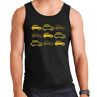 Citro�n Vintage 2CV Pattern Men's Vest