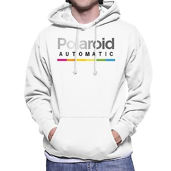 Polaroid Colorful Gradient Automatic Men's Hooded Sweatshirt