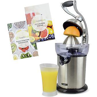 healthkick Citrus Fruit Juicing Press with Long Lasting 130w Motor