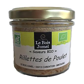 Organic Roasted Chicken Rillettes (without pork) 90 g