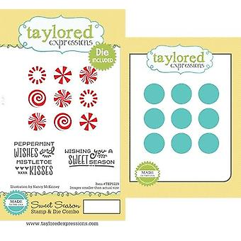 Taylored Expressions Sweet Season Stamp & Die Combo