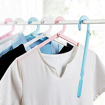 Space Saving Folding Cloth Hangers For Travel - Multi Function Drying Rack For Trouser Coat Towel Socks