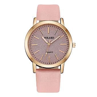 Yolako Quartz Watch Ladies - Anologue Luxury Watch for Women Pink
