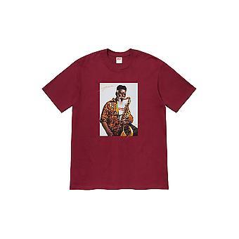 Supreme Pharoah Sanders Tee Cardinal - Vaatteet
