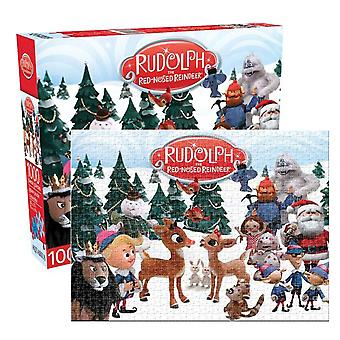 Rudolph The Red-Nosed Reindeer 1000pc Puzzle