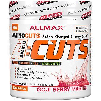 ALLMAX Nutrition, ACUTS, Amino-Charged Energy Drink, Goji Berry Martini, 7.4 oz