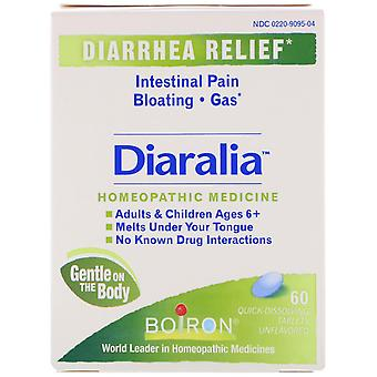 Boiron, Diaralia, Unflavored, 60 Quick-Dissolving Tablets