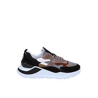 D.a.t.e. M331fgmemd Men's Multicolor Leather Sneakers