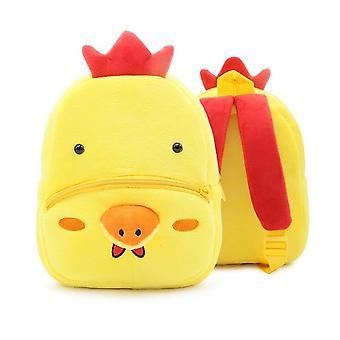 Animal Cartoon  Cute School Bags - Kindergarten Plush Backpack Schoolbag For Kids