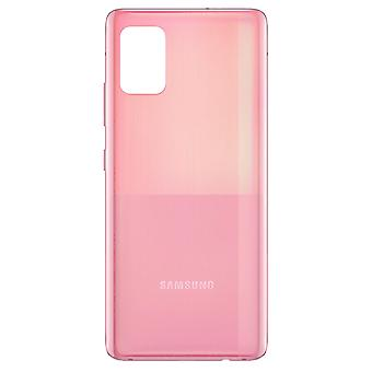 Vervanging batterijhoes voor Samsung Galaxy A51 Back Cover - Roze
