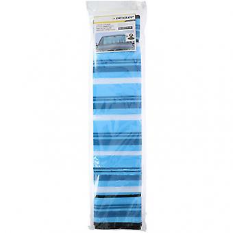 zonnescherm 130 x 60 cm polyester blauw/wit