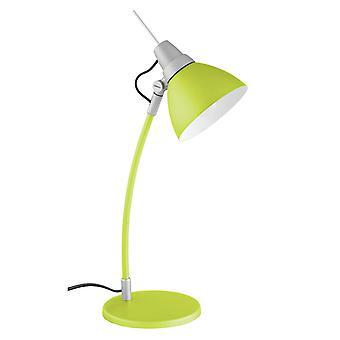 LYSANDE lampa Jenny Bordslampa Grön | 1x D45, E14, 40W, lämplig för falllampor (ingår ej) | Skala A++ till