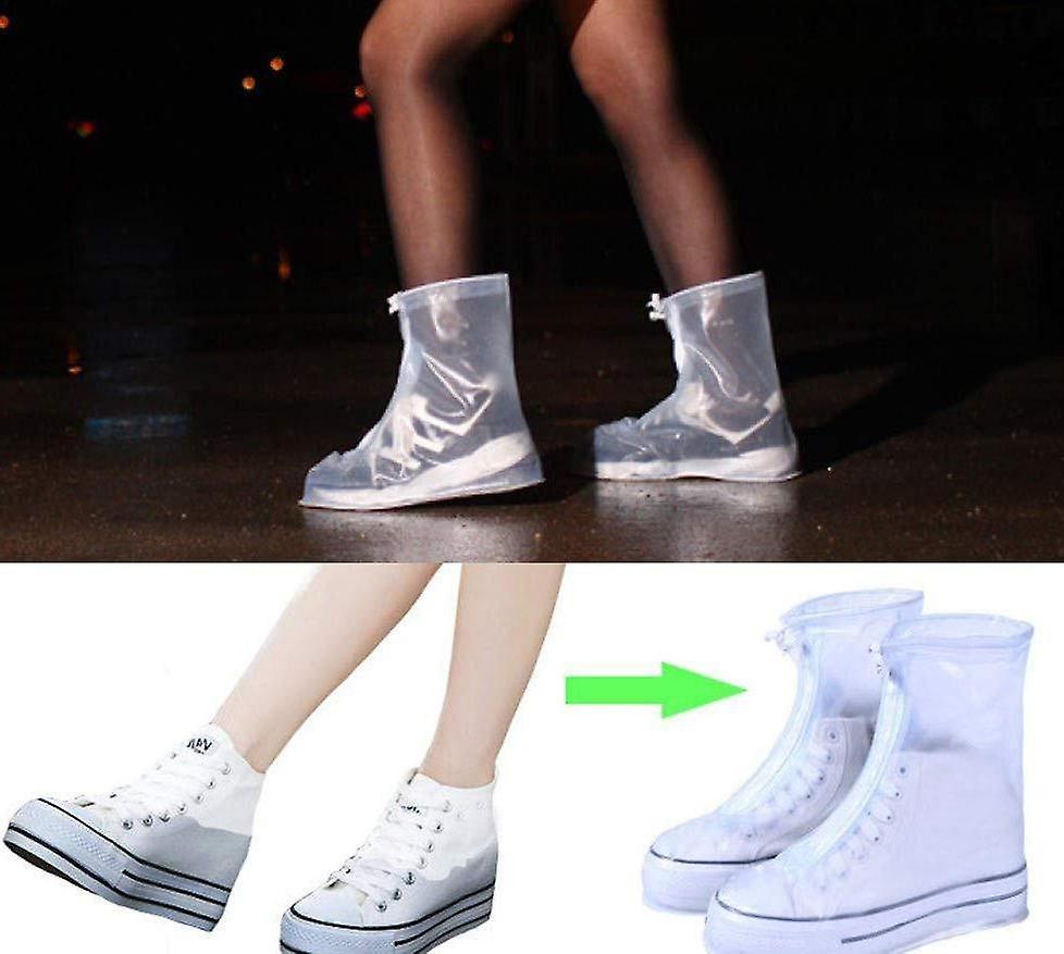 Outdoor Rain Shoes -boots Covers Waterproof Slip Resistant Overshoes For Men Women Kids