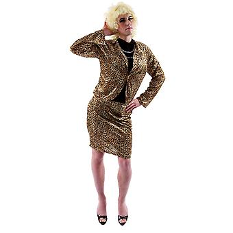 Orion kostuums mens Drag Queen Funny Stag doen fancy dress kostuum