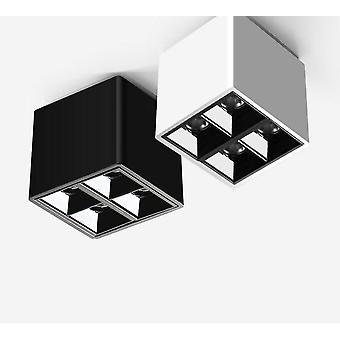 Estilo moderno blanco negro led para techo 8w Led