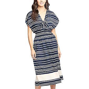 RACHEL Rachel Roy | Striped Midi Dress
