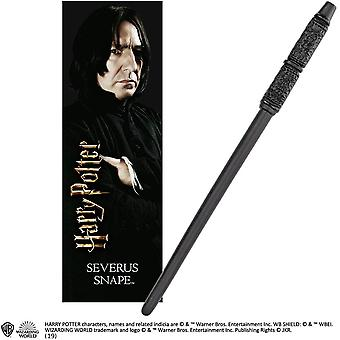 Severus Snape PVC Wand and Prismatic Bookmark by The Noble Collection