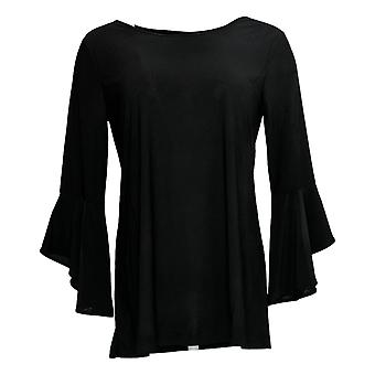 Women with Control Women's Top Pull-Over Black A302300