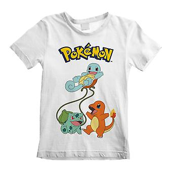 Pokemon Childrens/Kids Original Trio T-Shirt