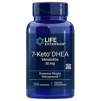 Life Extension 7-Keto DHEA Metabolite, 25 mg, 100 caps