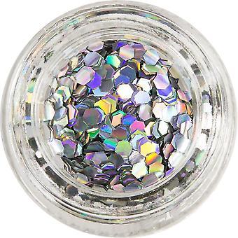 MoYou London Nail Art Glitter Pots - Its Raining Glitter 15ml (690757)