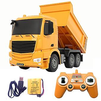 2.4g Rc Cars Dump Truck- Xmas Birthday Rc Engineering Truck Model