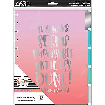 Happy Planner Undated Big Planner Extension Pack-Hourly