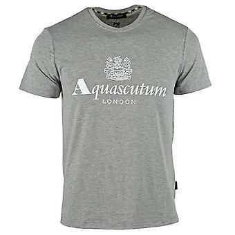 Aquascutum Griffin Logo Grå T-Shirt