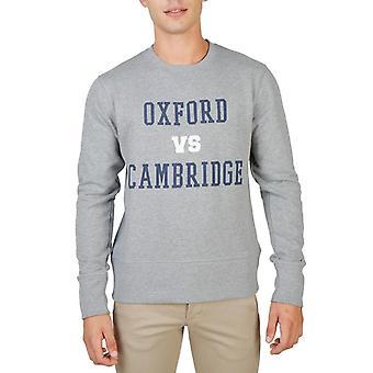 Oxford university men's long sleeves sweatshirt - oxford-fleece-crewneck