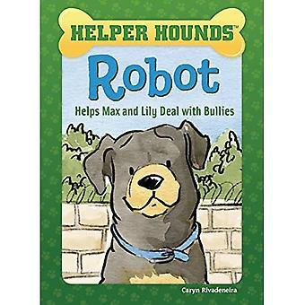 Robot aide Max et Lily face à bullies - Helper Hounds