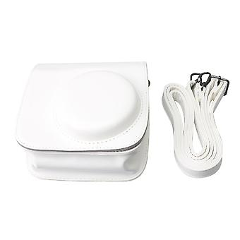 PU Leather Camera Carrying Bag Case for Fujifilm Mini8/9 Camera White