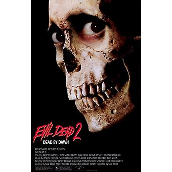 Evil Dead 2 Dead By Dawn Movie Poster (11 x 17)