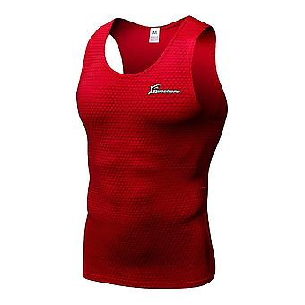 Kompression Lauf Weste Gym Fitness ärmelloses Training Tank Tops Musculation