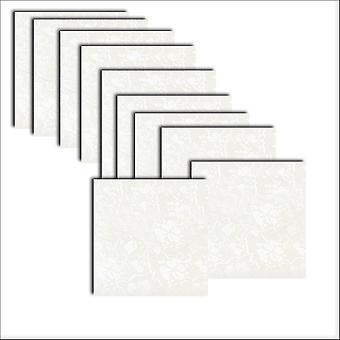 10 Dandy Broderie Square Card Inserts 140 x 140