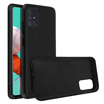 Back Cover For Samsung Galaxy A51 Honeycomb Carbon SolidSuit Rhinoshield black