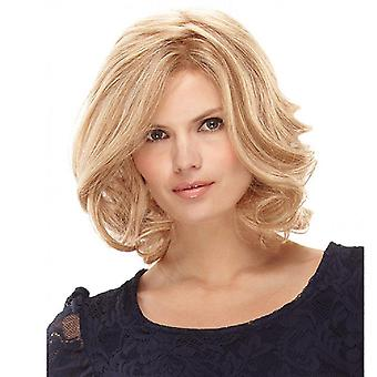 Women's Wig Women's High-Temperature Fiber Short Curly Wig Synthetic Wigs
