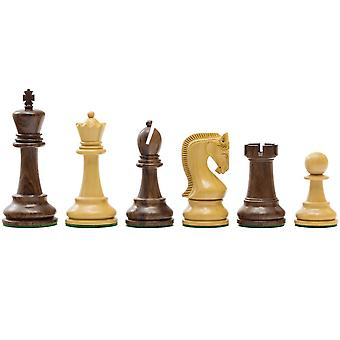 Leningrado serie Sheesham ajedrez hombres 4 pulgadas