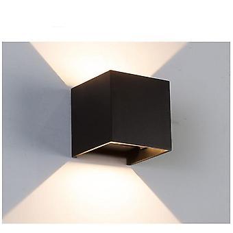 Állítható fénysugár szög kialakítása Led fali lámpa - beltéri / kültéri vízálló fény