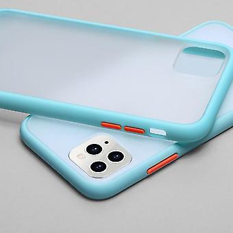 Mint Simple Matte Bumper Phone Case For Iphone 11 Pro Xr X Xs Max 12 6s 6 8 7
