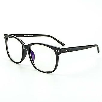 Blue Light Filter Computer Glasses Anti Eyestrain Clear Lens Oversized