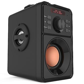 Subwoofer Bluetooth-højttaler - bærbar trådløs Tf FM Usb Stereo Soundbar Heavy