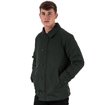 Men's Henri Lloyd chaqueta Oxford tradicional consorte en verde