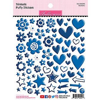Bella BLVD Blueberry Trinkets Puffy Stickers