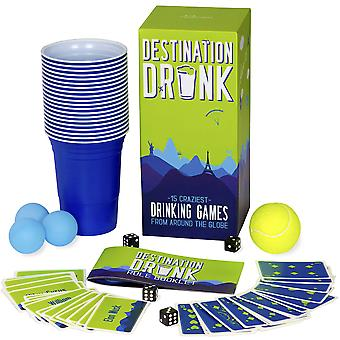 Destination drunk - 15 craziest drinking games from around the globe (adult party games from japan,