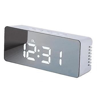 Alarme de table Snooze Led Digital Mirror Clock
