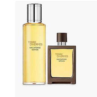 Hermes Terre D'Hermes Eau Intense Vetiver Eau de Parfum Spray 30ml + Botella de Recarga 125ml
