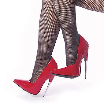 Devious Women's Shoes SCREAM-01 Red Pat