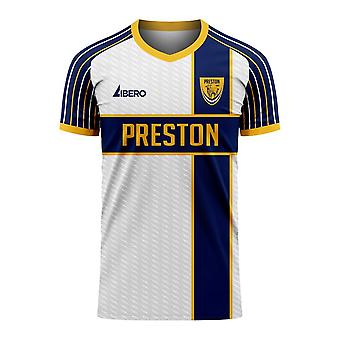 Preston 2020-2021 Home Concept Football Kit (Libero)