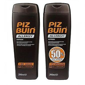 Piz Buin Allergy Lotion 30+ 50% Discount