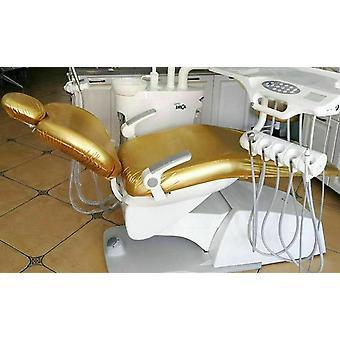 Dental Chair Unit Cover Pu Leather Golden Color (chiar Cover X1set)